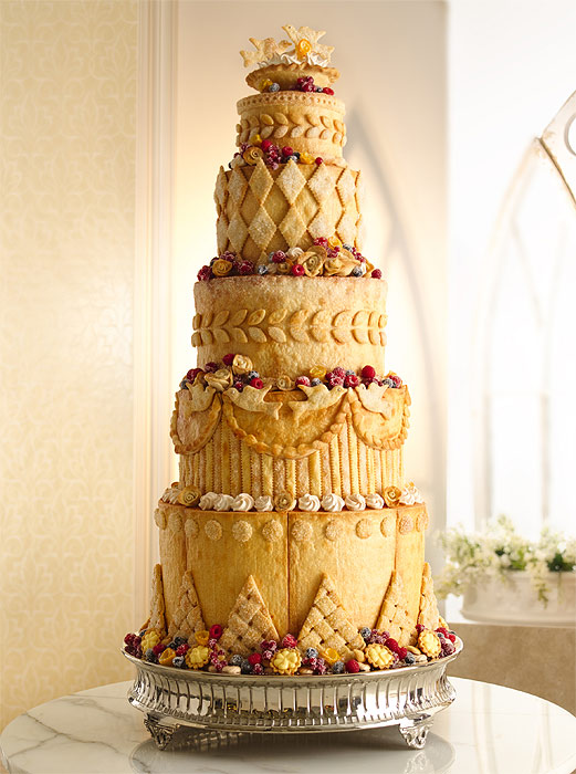 Four cakes for Kate Middleton and Prince William\'s wedding - Photo 8