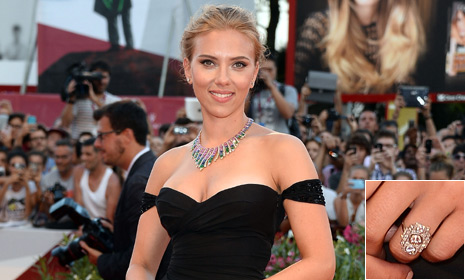 Scarlett Johansson engaged to Romain Dauriac