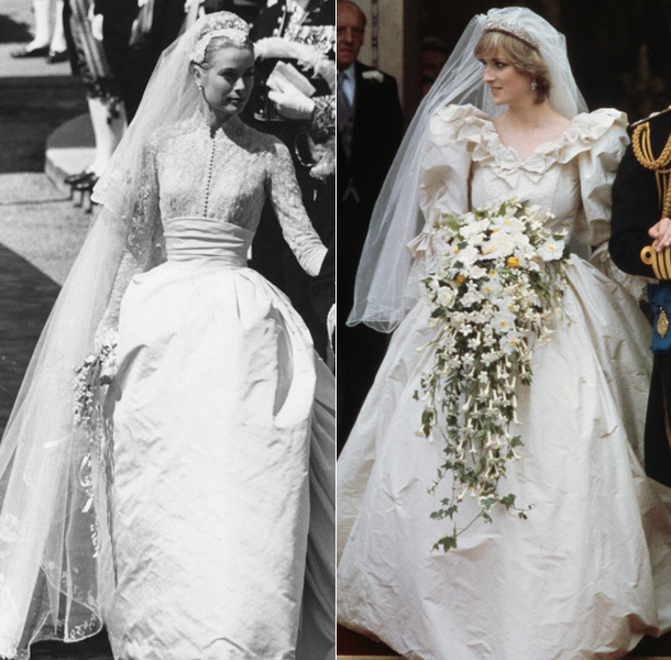 Celebrities Wedding Gowns: The Ten Most Iconic Celebrity Wedding Dresses Of All Time
