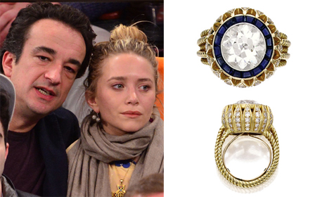 Inside story on Mary-Kate Olsen's huge vintage engagement ring
