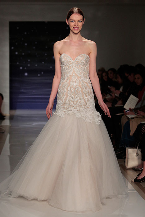 Every Look From Reem Acra's Bridal Runway Show: There's a ...