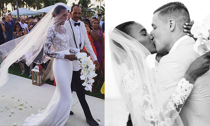 Victoria's Secret model Arlenis Sosa marries Donnie McGrath: 'Best catwalk of my life'
