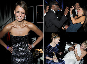 Behind the scenes at Hollywood's most relaxed awards