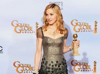 Madonna thrills HELLO! Online readers with elegant Golden Globes outfit