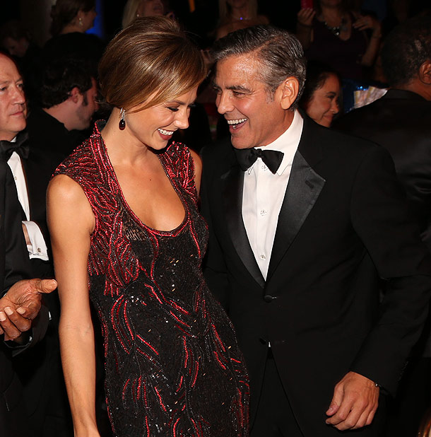 George Clooney's Girlfriend Stacy Keibler Says She's 'not