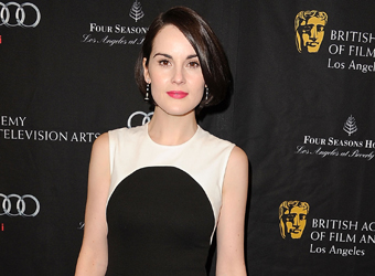 'Downton's Michelle Dockery leads UK hope for Golden Globe glory