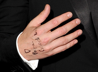 Messages of luck come in handy for Ben Affleck