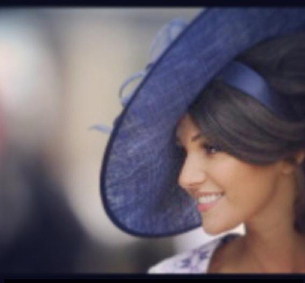Stunning And Surprising New Looks: Michelle Keegan's Stunning New Look At The Races
