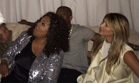Kim Kardashian and Kanye West enjoy fun-filled evening with Oprah Winfrey and P Diddy