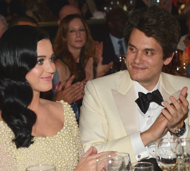 Katy Perry sparked engagement rumours with her dazzling ...