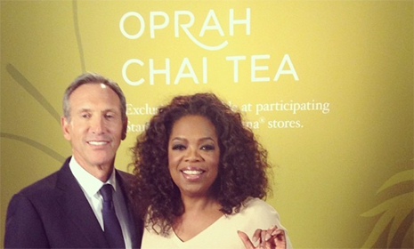 Oprah introduces new signature tea — Oprah Chai
