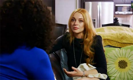 Lindsay Lohan admits to being close to relapse