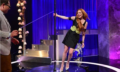 Lindsay Lohan talks rehab and drinking on Alan Carr: Chatty Man