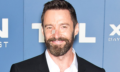 Hugh Jackman steps out following removal of second cancerous growth