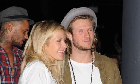 Dougie Poynter confirms his relationship with Ellie Goulding