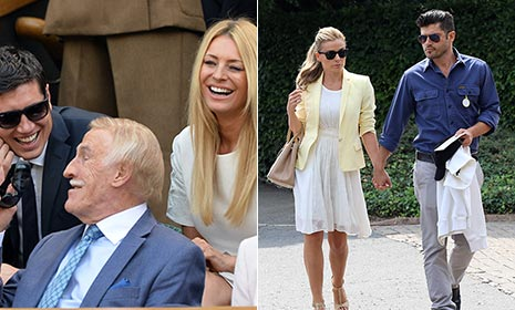 Wimbledon 2014: celebrities in attendance so far