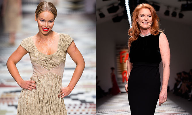 Katie Piper rules the runway in star-studded Fashion for Relief show