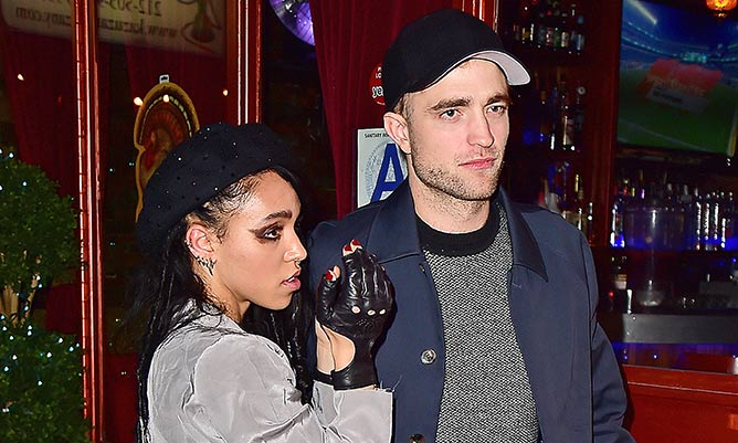 Robert Pattinson engaged to FKA twigs after six months