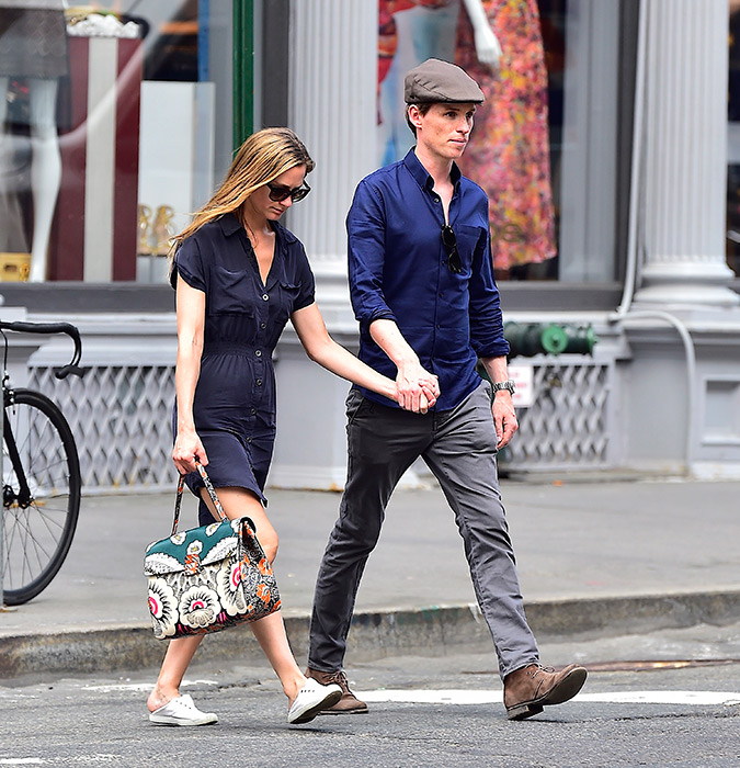 Wedding Gift Calculator New York : ... Redmayne and Hannah Bagshawe enjoy a day out in New YorkPhoto 3