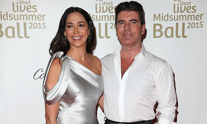 Lauren Silverman steals the spotlight at Simon Cowell's star-studded charity ball