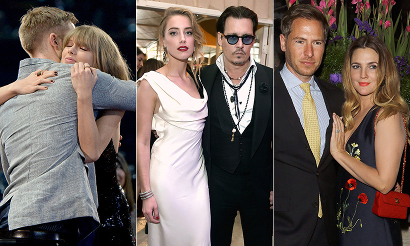 The most surprising celebrity splits: gallery