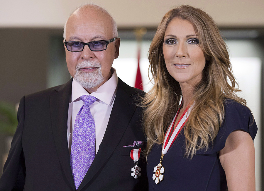 Tender moments from Celine Dion and René Angelil's 21-year marriage