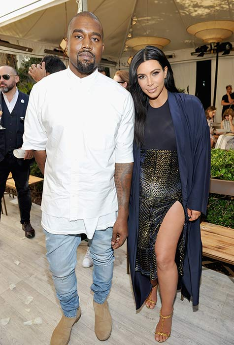 How kanye and kim started dating a guy