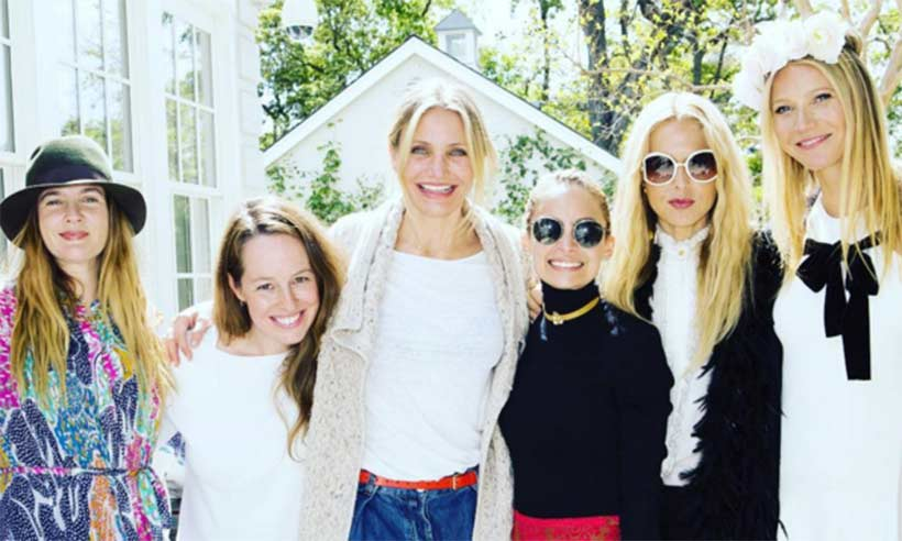 Gwyneth Paltrow hosts celebratory lunch for her A-List friends