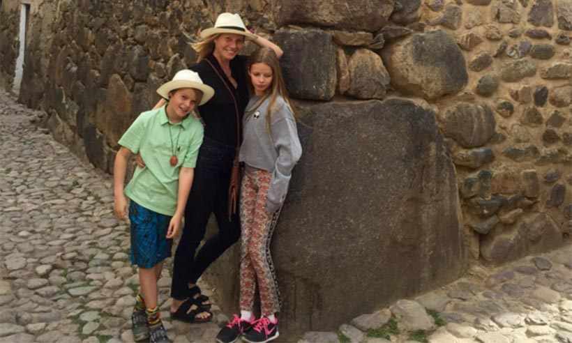 Gwyneth Paltrow shares pictures from vacation with Apple and Moses