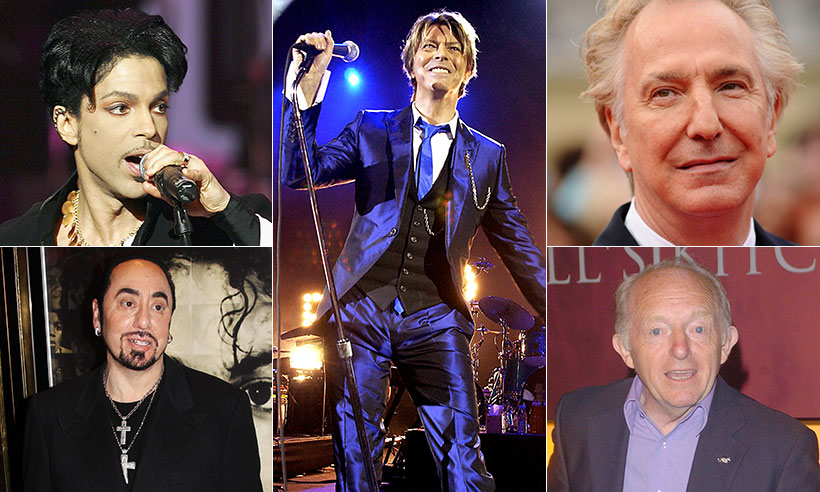 Celebrity deaths in 2016: Famous faces gone too soon