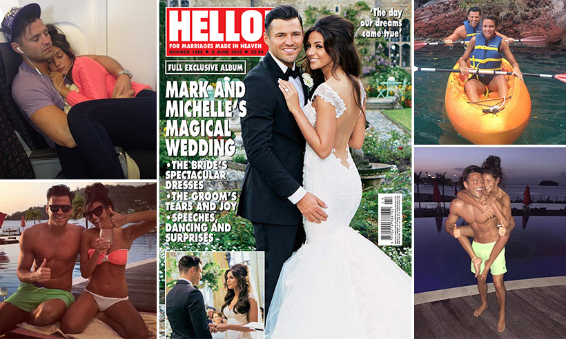 Mark Wright and Michelle Keegan: Their love story in pictures