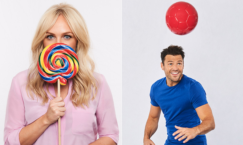 Find out what makes Heart presenters Emma Bunton and Mark Wright feel good