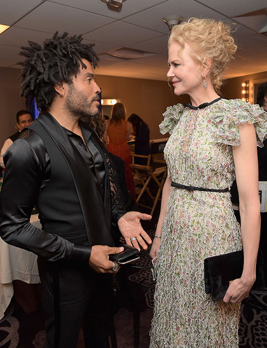 nicole kidman lenny kravitz hollywood awards