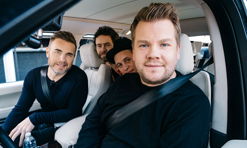 Watch Take That in hilarious Carpool Karaoke for Comic Relief