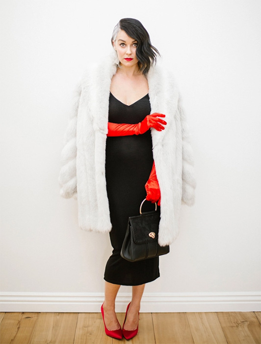 lauren-conrad-cruella  sc 1 th 258 & The Best Celebrity Halloween Outfits u0026 Fancy Dress Costume ...