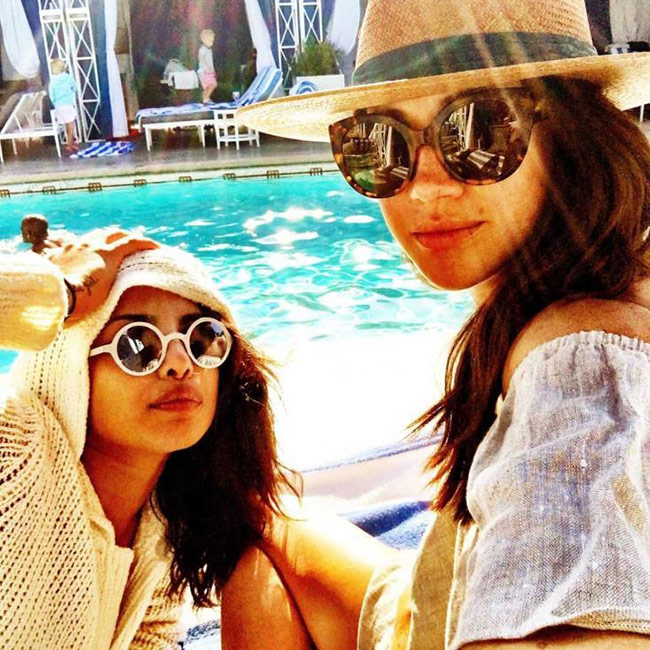 Priyanka Chopra just opened up about her friendship with Meghan Markle