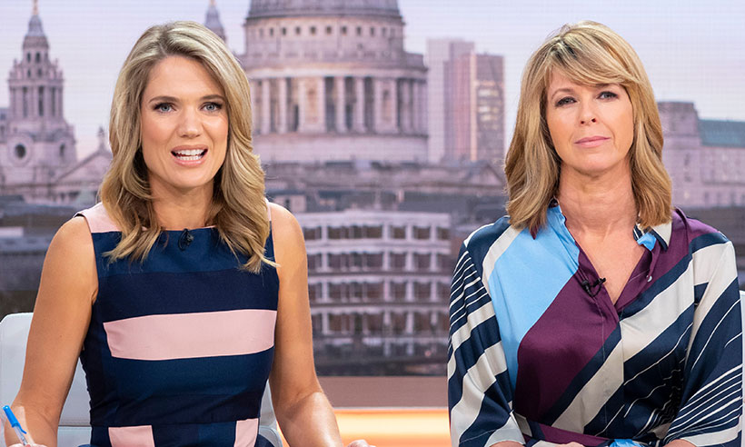 Kate Garraway and Charlotte Hawkins look barely recognisable in these throwback snaps