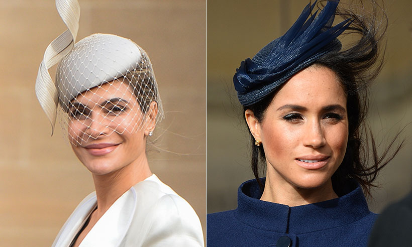 Ayda Field says she knew about Meghan Markle's pregnancy at Princess Eugenie's wedding