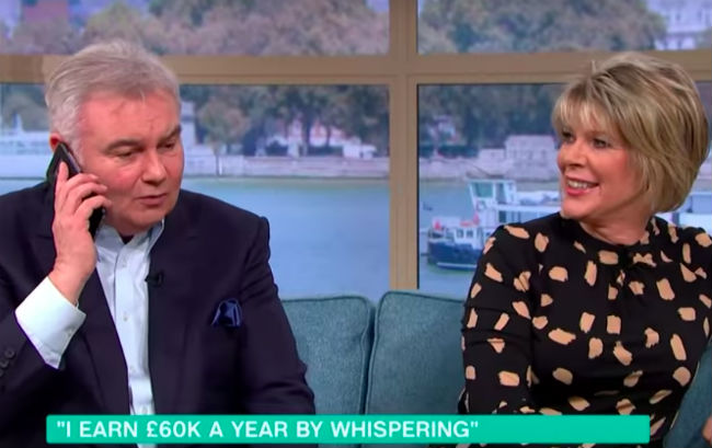 Eamonn Holmes left embarrassed live on This Morning after ...
