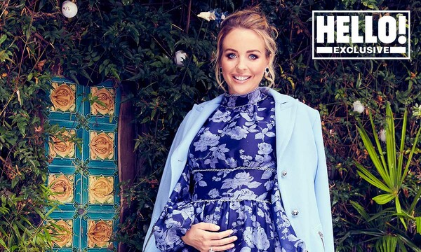 lydia bright reveals she is pregnant