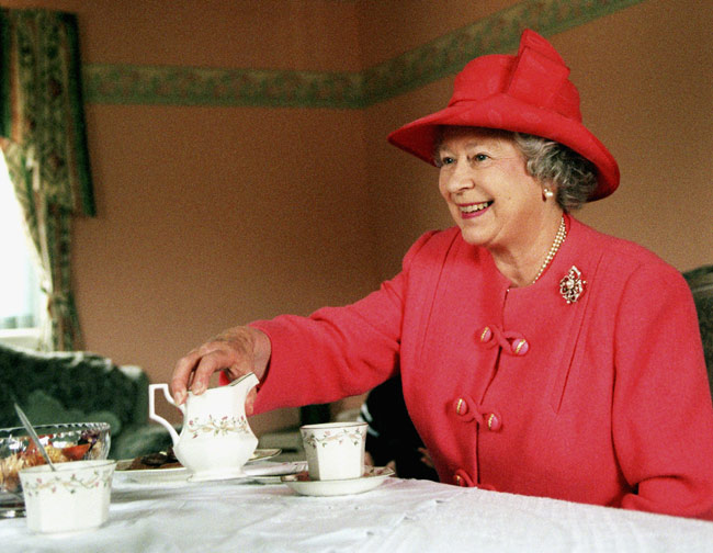 A Peek At The Queen S Breakfast Twinings Tea Cookies And