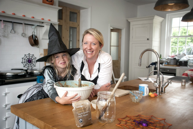 ... get dressed up and involved in tricky elements of baking, Miranda says