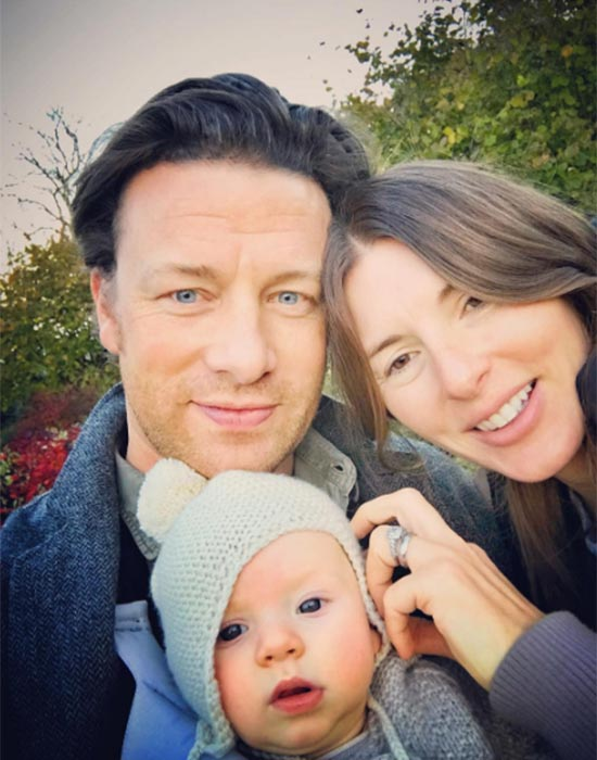 jamie oliver talks about juggling his career and being a father of five. Black Bedroom Furniture Sets. Home Design Ideas