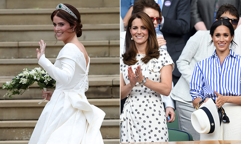 Princess Eugenie's royal wedding featured this exact same detail as Meghan and Kate