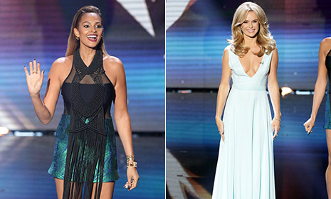 Fashion vote: Alesha Dixon vs. Amanda Holden