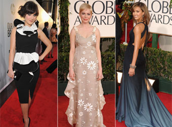 'Prepare to have your mind blown!': Zooey, Jessica and Michelle talk Globes fashion