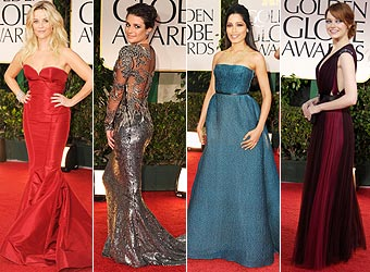Who wore it best at the Globes?