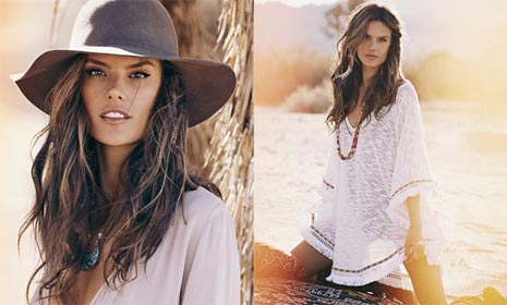 'Fashion's in my blood': Alessandra Ambrosio talks new clothing line
