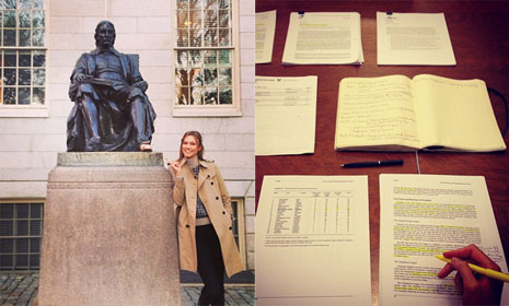 Victoria's Secret Angel Karlie Kloss goes to Harvard