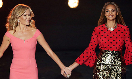 Britain's Got Talent fashion vote: Day 4 - Alesha Dixon vs Amanda Holden